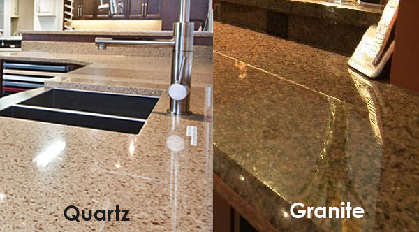 Granite vs quartz which is best for your kitchen for Silestone o granito