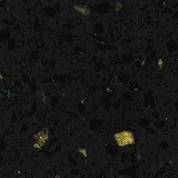 Vorona Quartz stone – Black galaxy