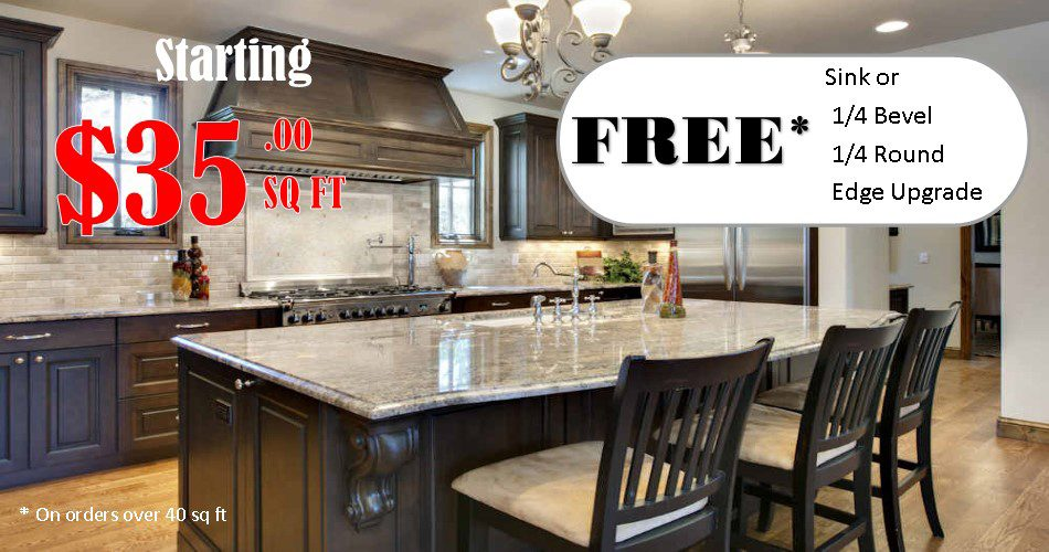 Granite & mabrle countertops Minneapolis