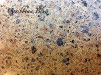 Caribbean blue – Quartz handstone