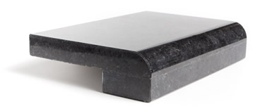 Half Bullnose With Laminated Counter