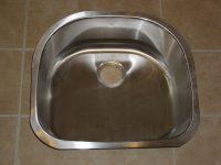 Silver kitchen sinks