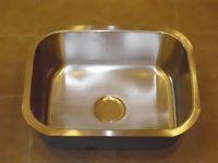 Undermount silver kitchen sink